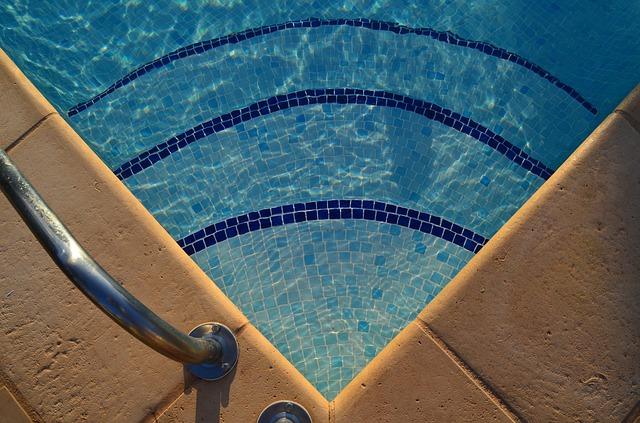 bazén ve vile