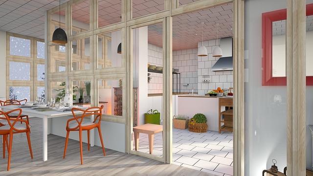 moderní kuchyň – obklady