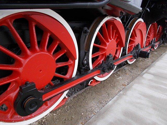 kola vlaku