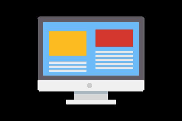 nakreslený web